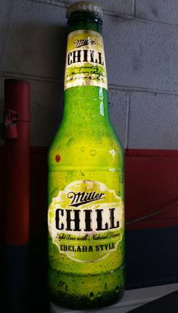 miller chill sign